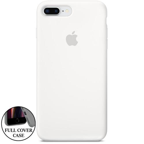 Силикон Original Round Case Apple iPhone 7 Plus / 8 Plus (06) White