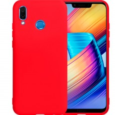 Силикон iNavi Color Huawei Honor Play (Красный)