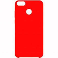 Силиконовый чехол Multicolor Huawei Nova Lite (2017) (красный)