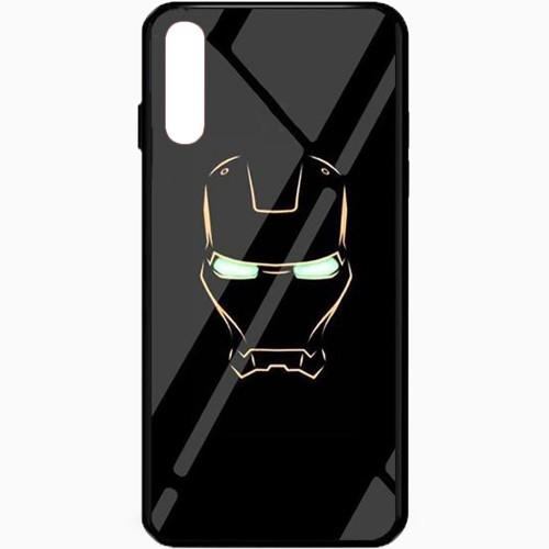Накладка Luminous Glass Case Samsung A50 (2019) (Ironman)