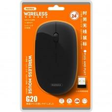 Мышь беспроводная Wireless Remax G20 2.4G (Чёрный)