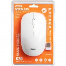 Мышь беспроводная Wireless Remax G20 2.4G (Белый)
