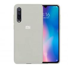 Силикон Original Case Xiaomi Mi9 (Бежевый)