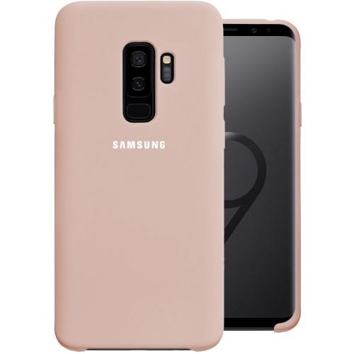 Силикон Original Case Samsung Galaxy S9 Plus (Пудровый)