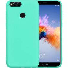 Силикон Multicolor Huawei Honor 7X (бирюзовый)