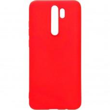Силикон iNavi Color Xiaomi Redmi Note 8 Pro (Красный)