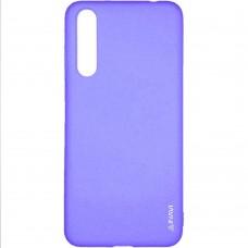 Силиконовый чехол iNavi Color Huawei P20 Pro (фиолетовый)