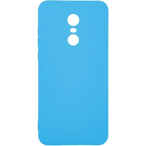 Силикон iNavi Color Xiaomi Redmi 5 Plus (голубой)