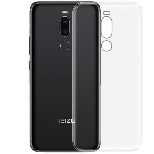 Силиконовый чехол WS Meizu M8 (прозрачный)