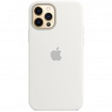 Чехол Silicone Case Apple iPhone 12 Pro Max (White)