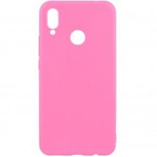 Силиконовый чехол Multicolor Huawei Honor 8X (розовый)