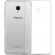Силиконовый чехол WS Meizu M6 (прозрачный)