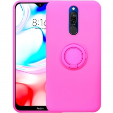 Чехол Ring Silicone Case Xiaomi Redmi 8 (Розовый)