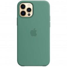 Силикон Original Case Apple iPhone 12 / 12 Pro (55) Blackish Green