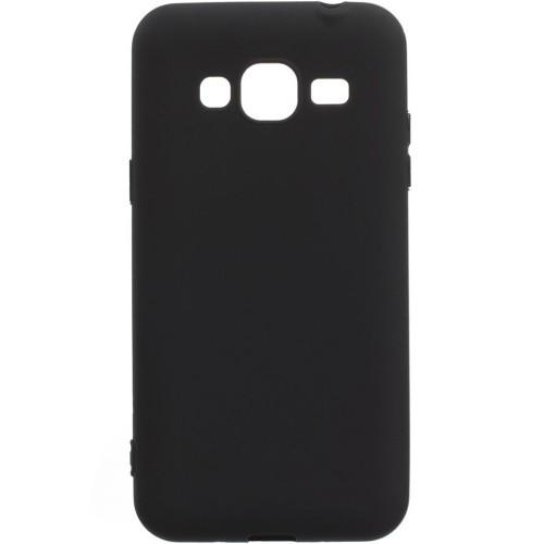 Силиконовый чехол Graphite Samsung Galaxy J2 (2016) J200 (черный)