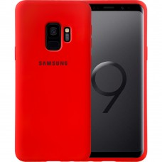 Силикон Original Case Samsung Galaxy S9 (Красный)