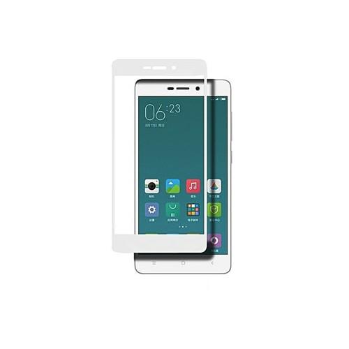 5D Защитное стекло для Xiaomi Redmi 3 / 3 Pro / 3S / 3X / 4a White