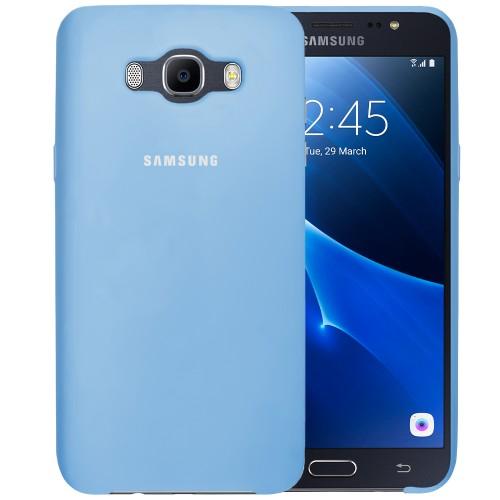 Силикон Original Case Samsung Galaxy J7 (2016) J710 (Голубой)