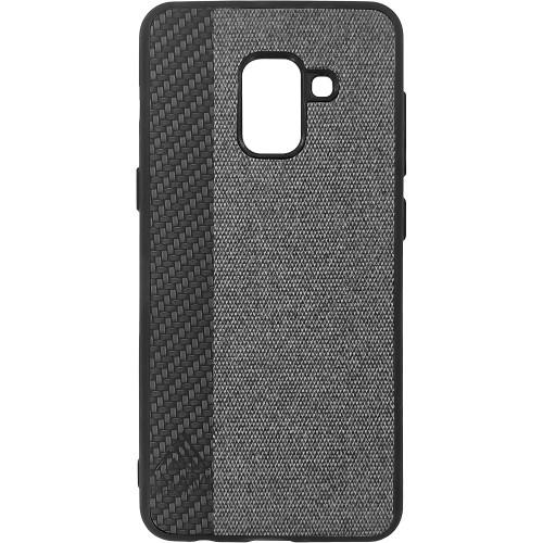 Силиконовый чехол Inavi Samsung A8 (2018) A530 (черный)