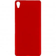 Силиконовый чехол Multicolor Sony Xperia XA (красный)
