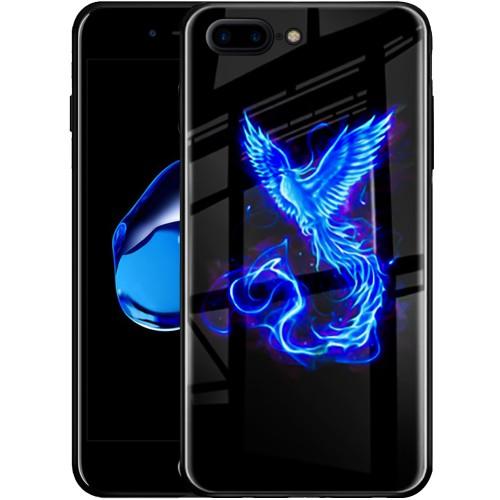 Накладка Luminous Glass Case Apple iPhone 7 Plus / 8 Plus (Phoenix)