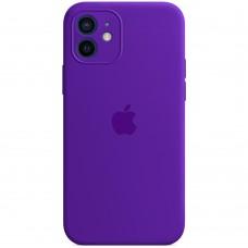 Силикон Original RoundCam Case Apple iPhone 12 (02) Ultra violet