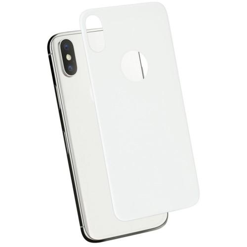 Стекло 5D Fanny Apple iPhone XS Max White (на заднюю сторону)