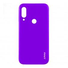 Силиконовый чехол iNavi Color Huawei P20 Lite (фиолетовый)