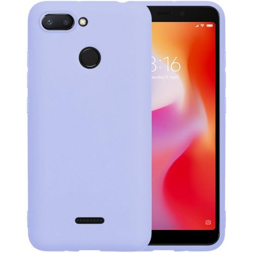 Силикон iNavi Color Xiaomi Redmi 6 (фиолетовый)