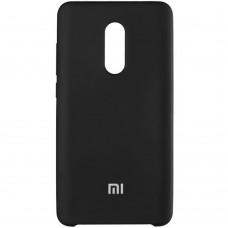 Силикон Original Case Xiaomi Redmi Note 4x (Чёрный)