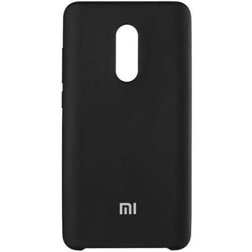 Силиконовый чехол Original Case Xiaomi Redmi Note 4x (Чёрный)