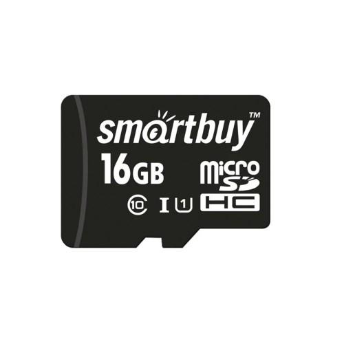 Карта памяти Smartbuy MicroSDHC UHS-1 16Gb (Class 10)