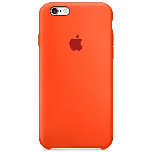 Силиконовый чехол Original Case Apple iPhone 6 Plus / 6s Plus (18) Orange