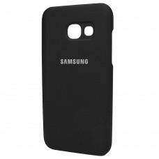 Силикон Original Case Samsung Galaxy A3 (2017) A320 (Чёрный)