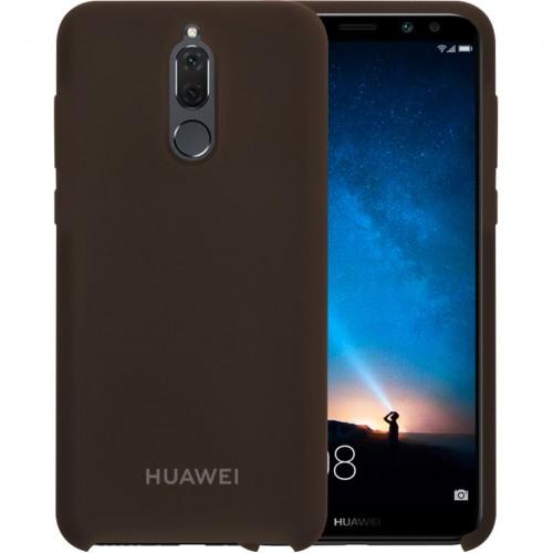 Силикон Original Case Huawei Mate 10 Lite (Тёмно-коричневый)