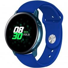 Ремешок Silicone Band Samsung Gear S2 / S3 20mm (Blue) Gadgik