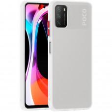 Накладка Totu Gingle Series Xiaomi Poco M3 / Redmi 9T (Белый)