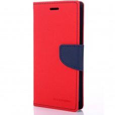 Чехол-книжка Goospery Canvas Diary Meizu  M3 Mini / Meizu M3s Mini (Красный)
