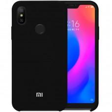Силикон Original Case Xiaomi Redmi 6 Pro / Mi A2 Lite (чёрный)