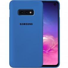 Силикон Original Case Samsung Galaxy S10e (Кобальт)