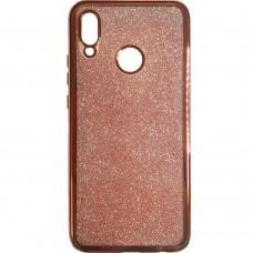 Силиконовый чехол Remax Air Glitter Huawei P20 Lite (Pink)