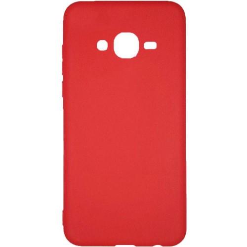 Силиконовый чехол Buenos Samsung J2 Prime/G530 (красный)