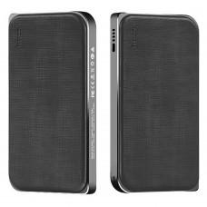PowerBank Leather Grain 3 USB 8000mAh (Black)