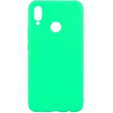 Силиконовый чехол Multicolor Huawei Honor 8X (бирюзовый)