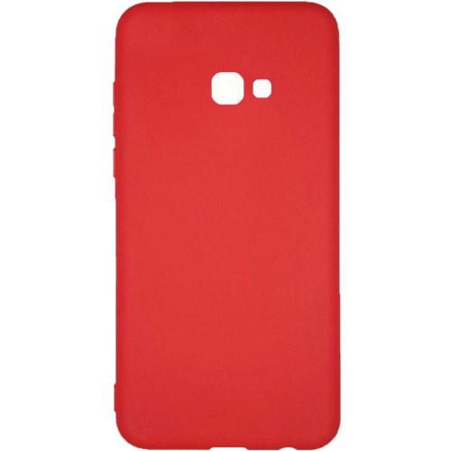 Силиконовый чехол Multicolor Samsung J4 Plus (2018) J415 (красный)