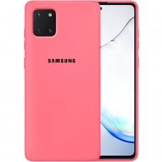 Силикон Original Case Samsung Galaxy Note 10 Lite (Клубничный)