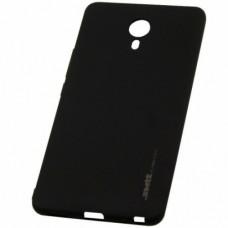 Силиконовый чехол SMTT Meizu M6 (Черный)