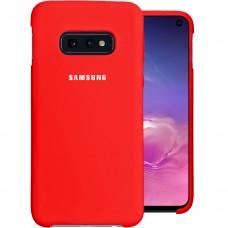 Силикон Original Case Samsung Galaxy S10e (Красный)