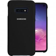 Силикон Original Case Samsung Galaxy S10e (Чёрный)