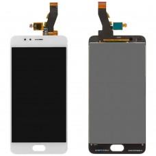 Дисплейный модуль Meizu M5s (M612) (White)